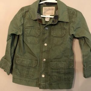 Army green lightweight carters 3T jacket
